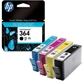 Bl�kpatron HP No364 Combo-pack (cyan, magenta, yellow, black)