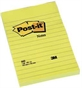 Telefonbesked Post-it 660 gul, 102x152mm, linieret