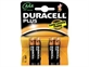 Batteri Duracell MN 2400 1,5v LR03 AAA Plus Power Pk/4