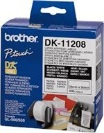 Adresselabel Brother 11208 38x90mm 400 stk