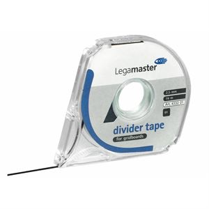 Inddelingstape Legamaster 4333 01 8m x 3mm Sort