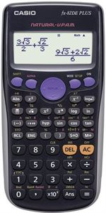 Matematikregner, Casio Normal 2-line Display System Model FX-82DE