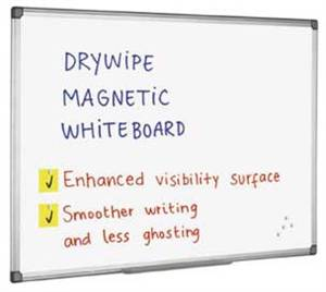 Whiteboard Universal Q-Connect 60 x 90 cm