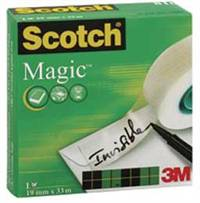 Scotch Invisible tape 19mm x 33m, permanent