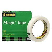 Scotch Magic tape 810, 19 mm x 66 m